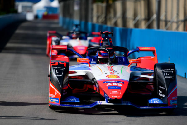 | Driver: Pascal Wehrlein| Team: Mahindra Racing| Number: 94| Car: M6 Electro| Photographer: Lou Johnson| Event: Ad Diriyah E-Prix| Circuit: Ad Diriyah Circuit| Location: Riyadh| Series: FIA Formula E| Season: 2019-2020| Country: SA| | Session: Qualifying|